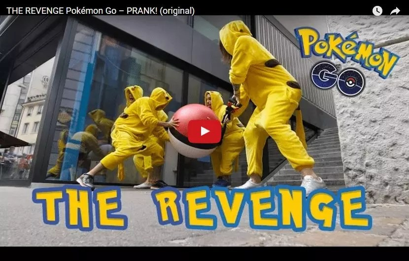 Pokemon Go The Revenge Marketing Guerrilla Street Marketing humor