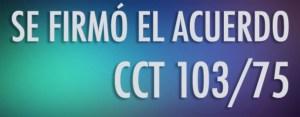 Sanidad ATSA FATSA CCT 103/75 escala salarial