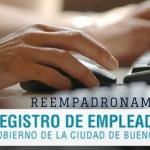 """Prórroga del Reempadronamiento  """"Registro de Empleadores Online"""""""