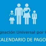 Asignación Universal por hijo Calendario de pago Noviembre 2018