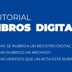 tutorial rubrica libros digitales sas