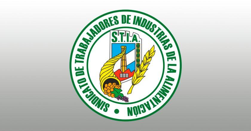 Sindicato alimentacion STIA acuerdo salarial escala
