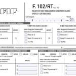 Servicio Doméstico: nuevo Formulario 102/RT 2019