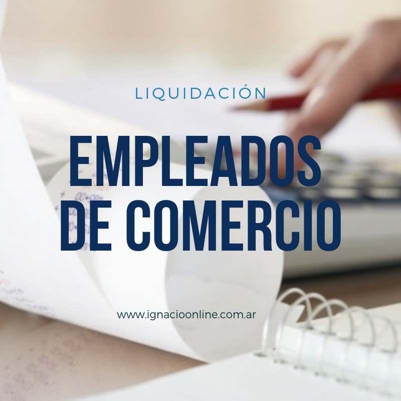 Liquidación de Empleados de Comercio