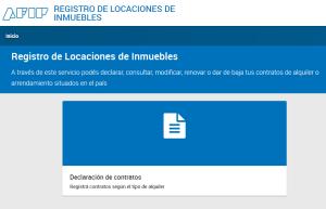 AFIP Registro de Contratos de Locación de Inmuebles (RELI)