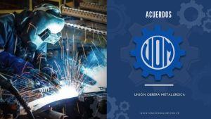 UOM Unión Obrera Metalúrgica liquidación de sueldos acuerdos
