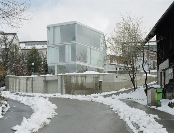 House with One Wall, Zurich