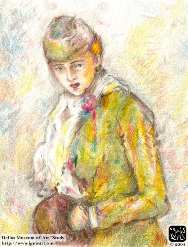DMA Morisot Girl