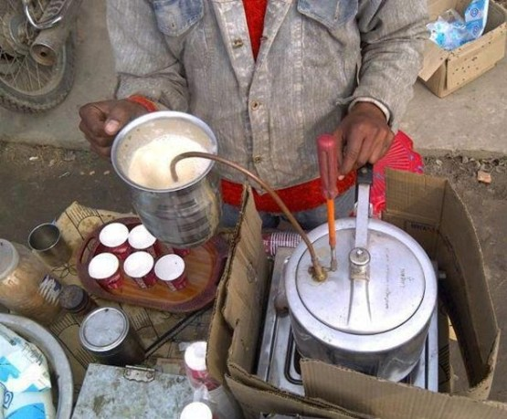 Road Side Jugaad Tea Maker