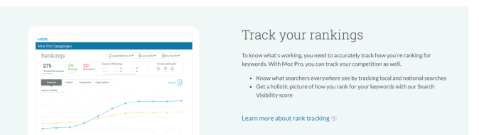 Moz Pro | Track your ranking