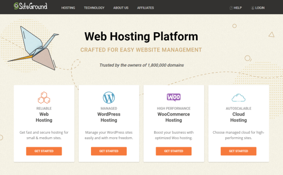 Siteground | Best web hosting sites