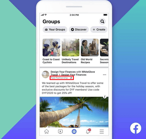 New Opportunities for Facebook Groups as Facebook Expands Capabilities of the Branded Content Tool