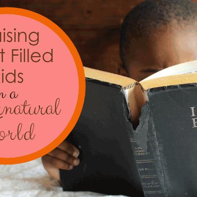 Webinar on Raising Spirit Filled Kids