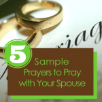 How to Make Praying With Your Spouse Easy (Free PDF)