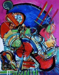 Image of an abstract painting