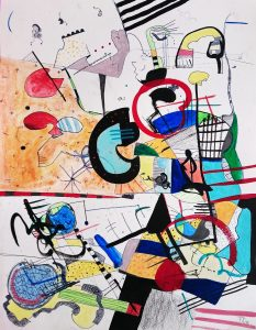 Image of an abstract artwork