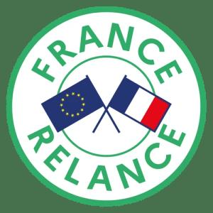 Logo-France-Relance pour obtenir accueil professionnel gratuit