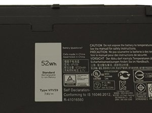 Dell Latitude E7240 E7250 Ultrabook battery VFV59 W57CV J31N7 WD52h