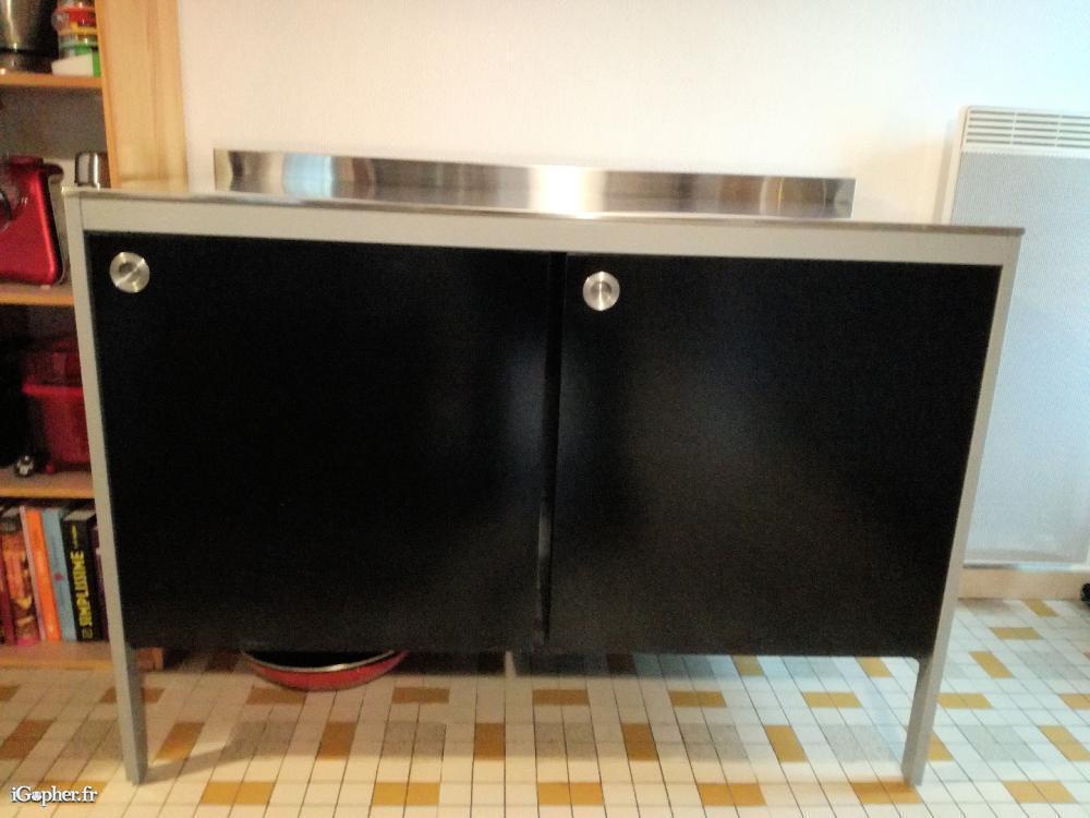 meuble de cuisine noir ikea igopher fr