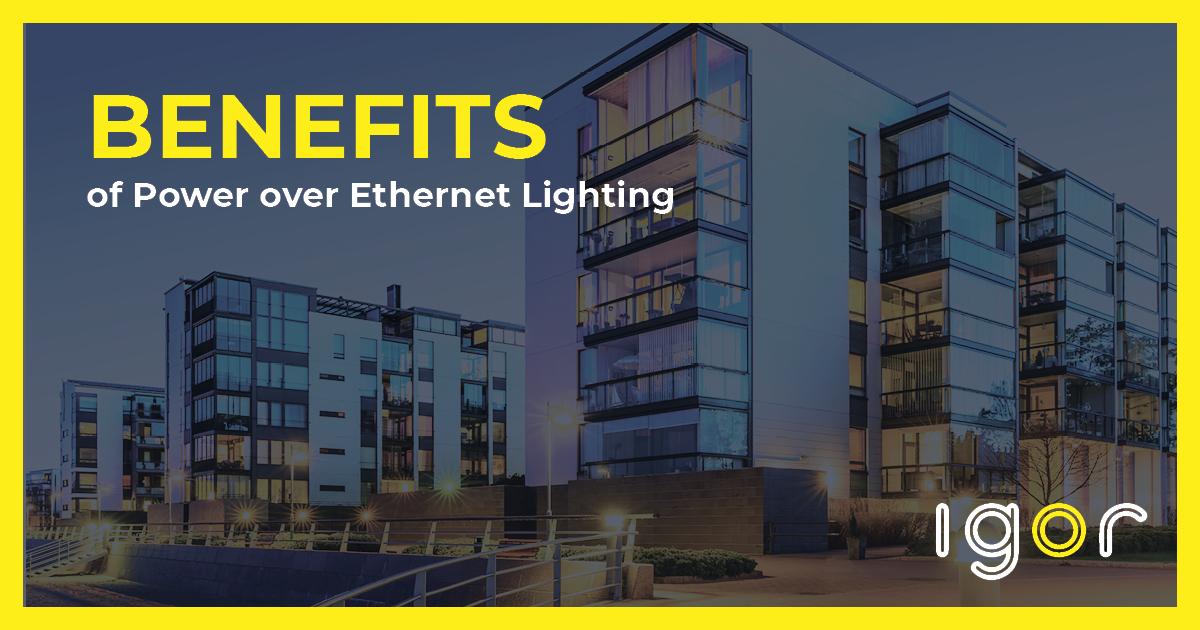 power over ethernet lighting