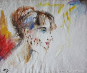 portrait_Luba_watercolor