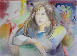 portrait_Vlada_watercolor