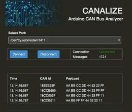 CANALIZE, a web-based network protocol analyzer