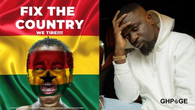 'Fixing the country automatically fixes the people' – Sarkodie breaks silence on #FixTheCountry movement