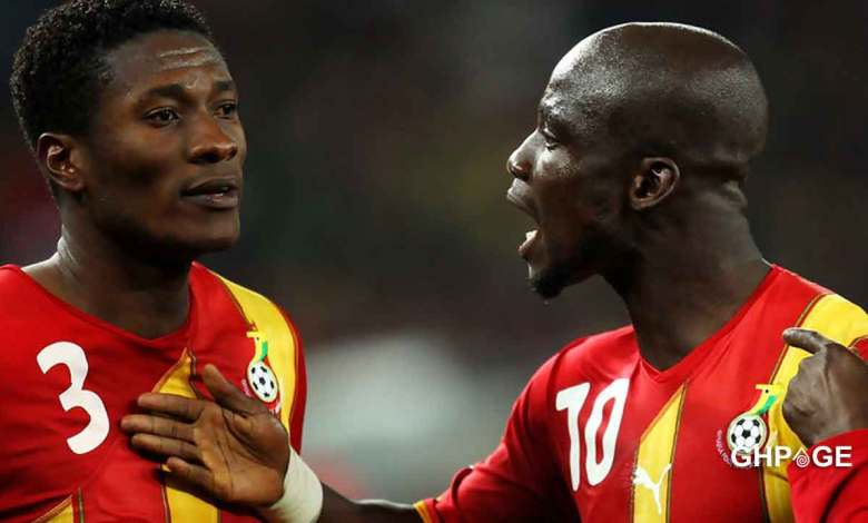 Stephen Appiah leaves out Asamoah Gyan in his list of top 5 Black Stars players
