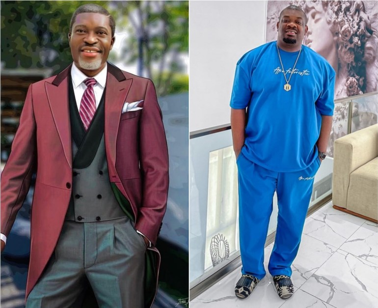 Video – Don Jazzy's Pleasant Reaction As He Meets Actor, Kanayo O. Kanayo, For The First Time