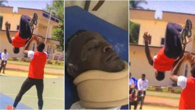 level 400 student at uew dies whilst celebrating after writing final exam video