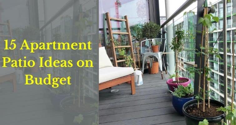 amazing apartment patio ideas on budget