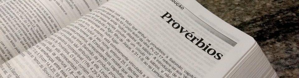 Introdução do Livro de Provérbios