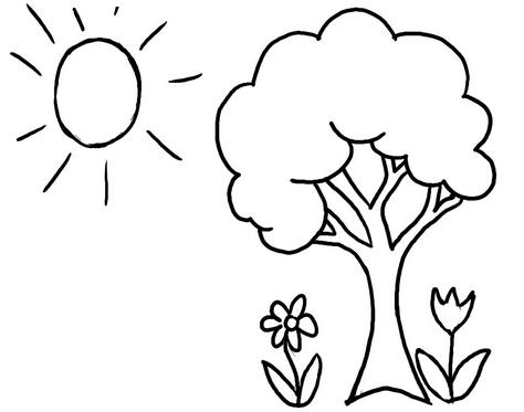 Раскраски на летнюю тему. Детские картинки распечатать ...