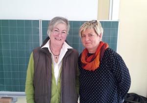 Frau Ravior und Frau Fuchs vom Hospizdienst Kaufungerwald e.V.