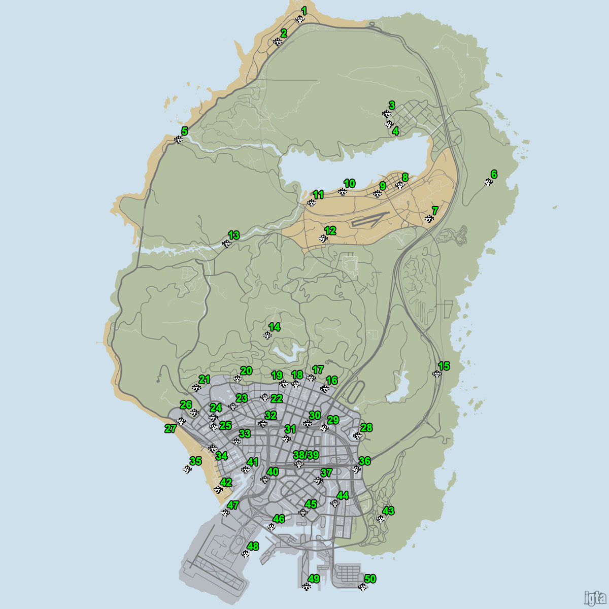 Stores Gta 5 Map