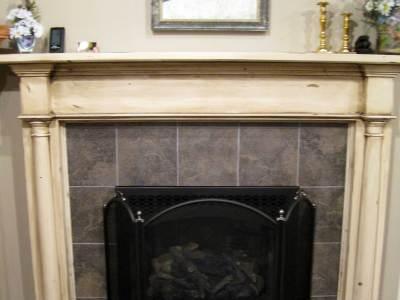 Hampton Victorian Fireplace Mantel Iguana Art & Design
