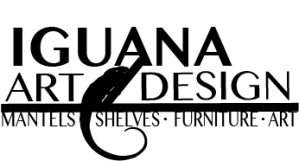 Iguana Art and Design Custom Made Fireplace Mantels and Shelves