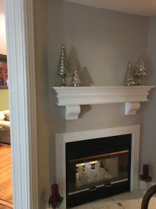 Custom Fireplace Mantel Shelf