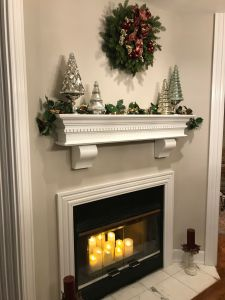 Custom Fireplace Mantel wood