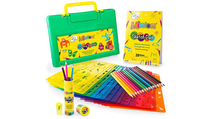 Mimtom Drawing Set for 5 Years Old Boy