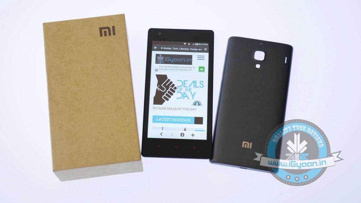 Xiaomi Redmi 1s Unboxing 17