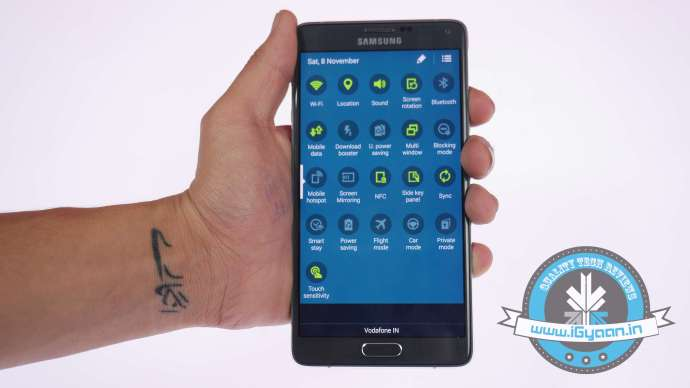 Samsung Note 4 Features 0