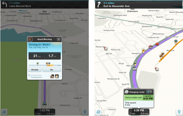Waze Brings Cleaner Map UI, Sleep Mode, Search Bar on Map and More