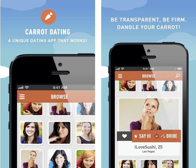 Dangling carrot dating websites