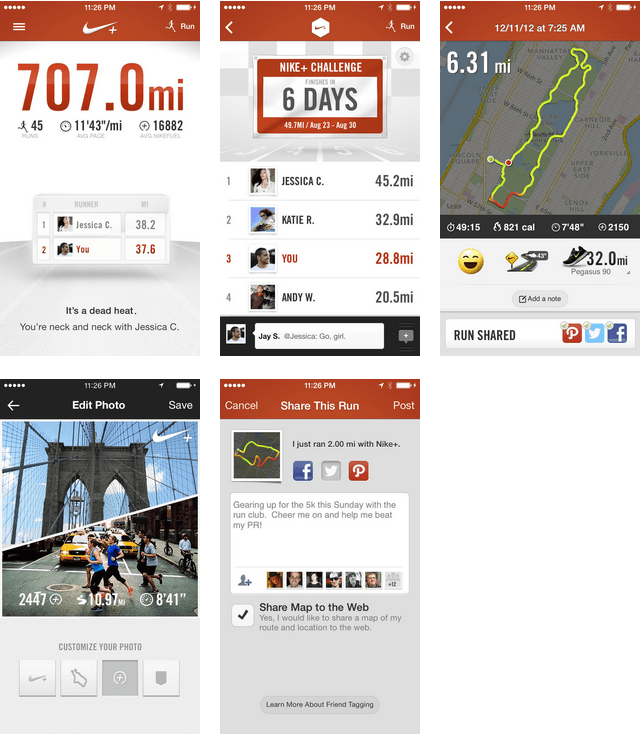 Nike, Nike +, Running Soft, Running App PNG Image and