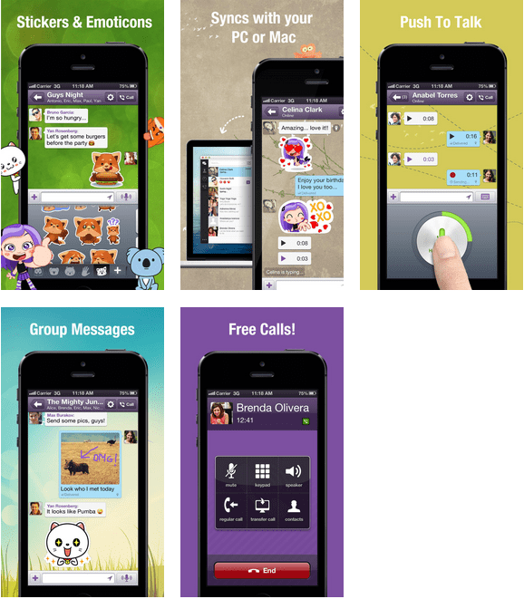 Viber 4 0 Released With Instant Hold and Talk, Message