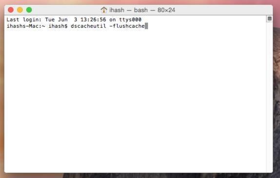 OSX_yosemite_clear_dns_cache