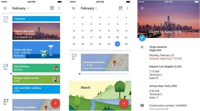 Google Calendar app for your iPhone