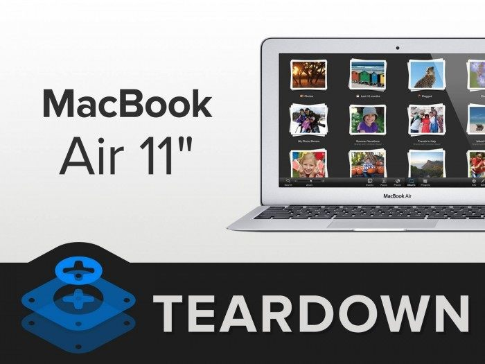 macbook air 11 ifixit
